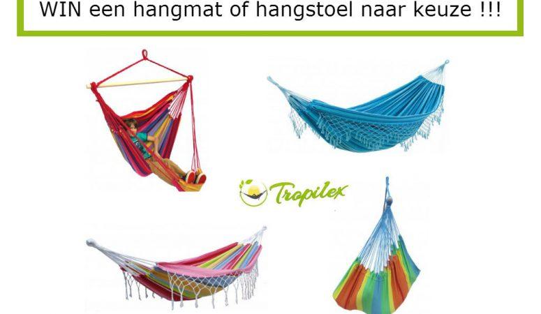 Winactie Tropilex Hangmat / Hangstoel – GESLOTEN