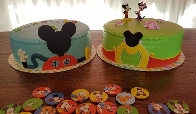 Verjaardagstaart, Mickey Mouse Clubhuis