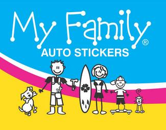 The Sticker Family, je gezin in stickers!