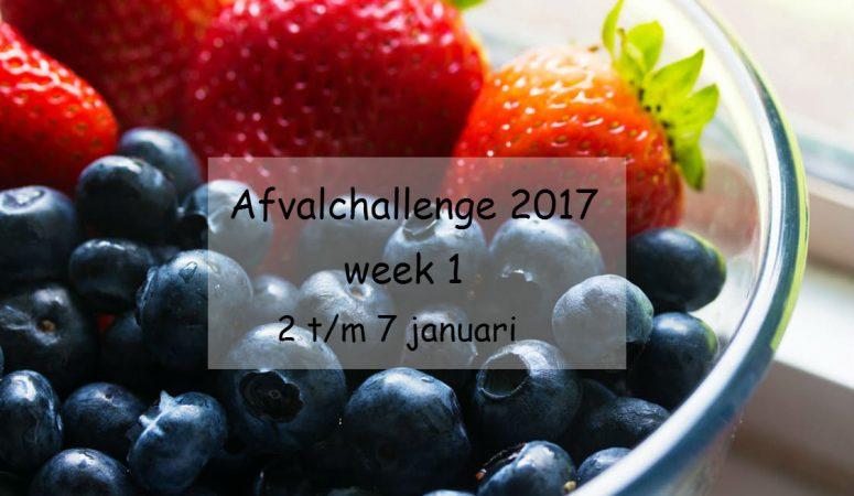 De Afvalchallenge 2017 – week 1