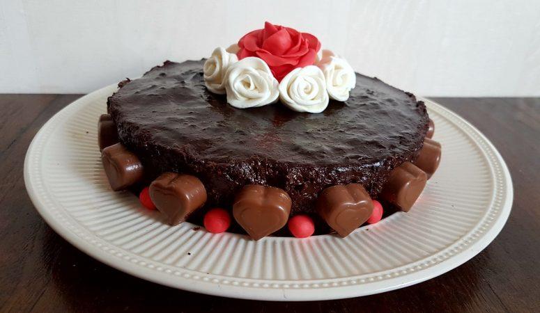 Chocoladetaart om je vingers bij af te likken!