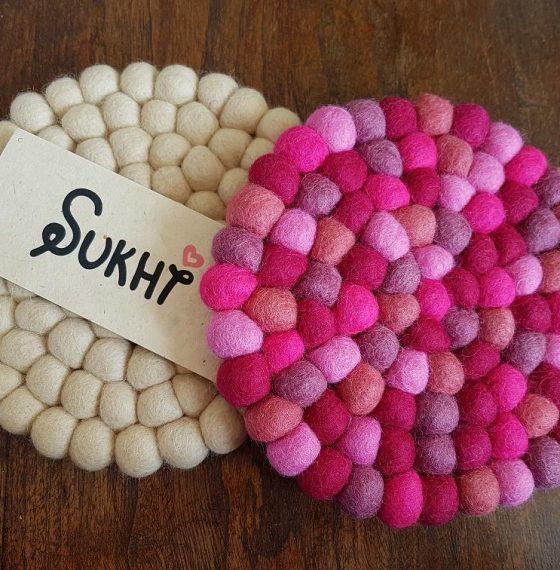 Maak het gezellig in huis met Sukhi vloerkleden en onderzetters
