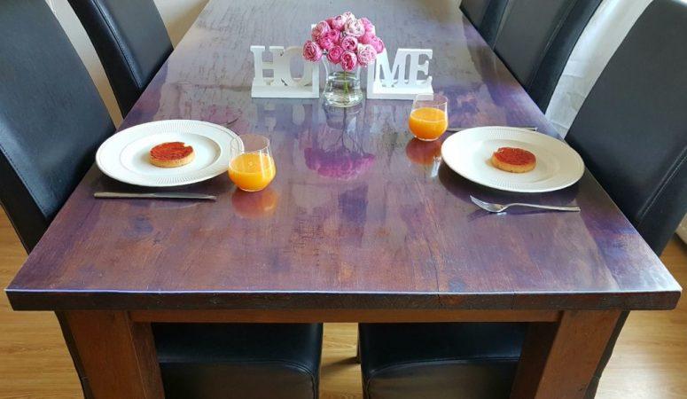 Bescherm je prachtige tafel met een kidsproof tafelbeschermer!