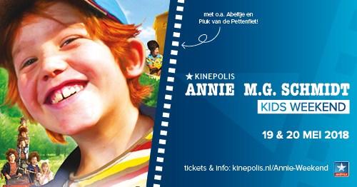 Annie M.G. Schmidt weekend bij Kinepolis op 19 en 20 mei! + WINACTIE !!!